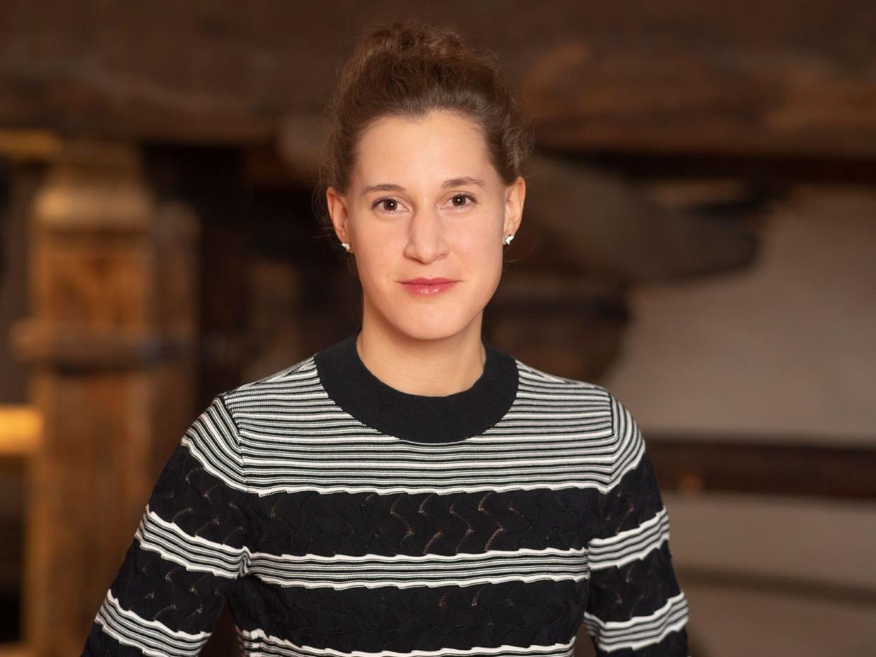 Portrait von Frau Streif